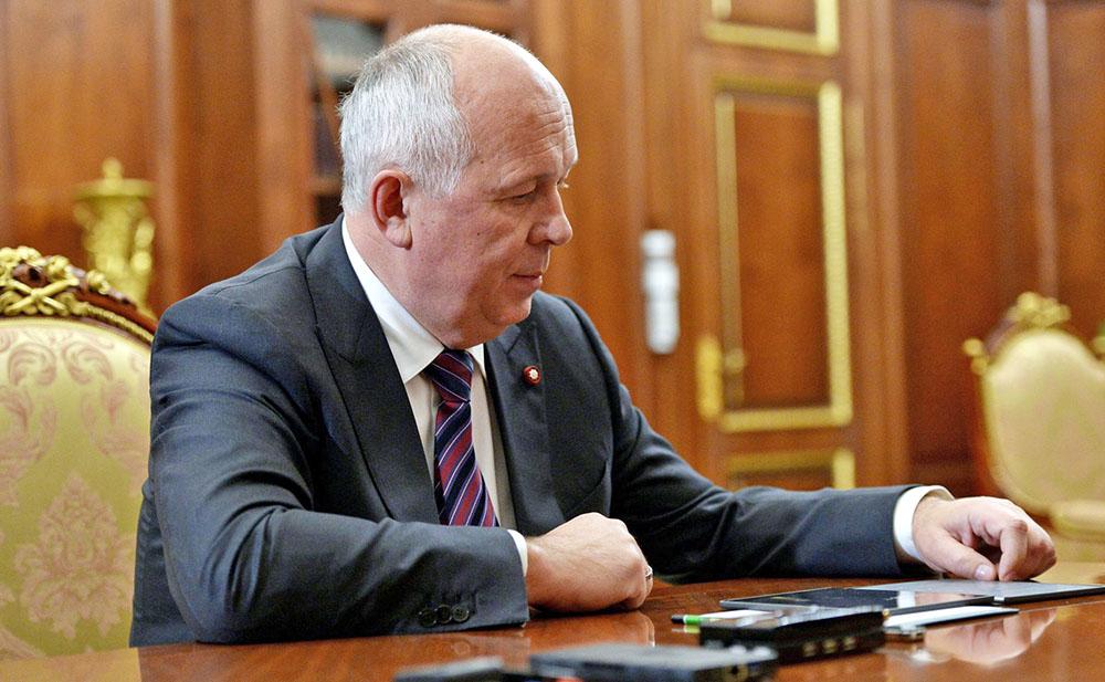 Генеральный директоро Госкорпорации «Ростех» Сергей Чемезов