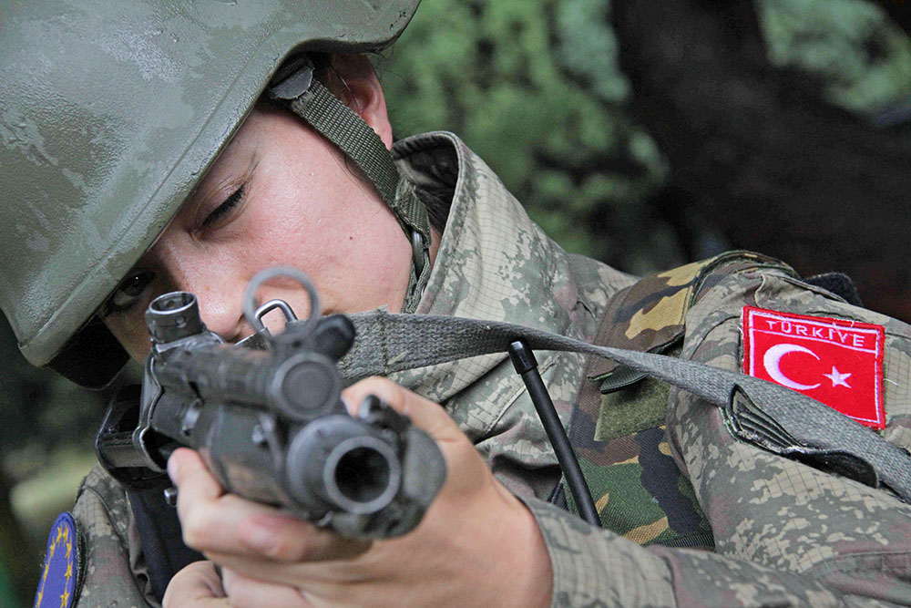 Военнослужащий Турецкой армии