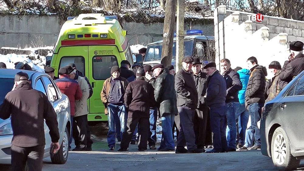 На месте убийства депутата парламента Кабардино-Балкарии