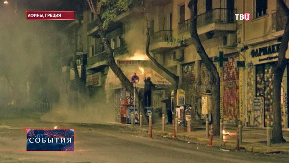 Акция протеста Греции