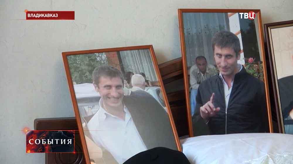 Погибший Владимир Цкаев