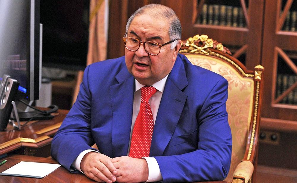 Предприниматель Алишер Усманов