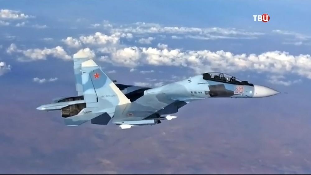 Многоцелевой истребитель Су-30СМ