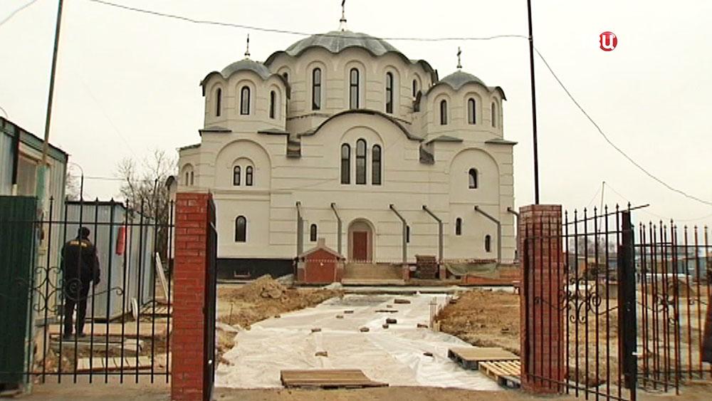 """Cтроительство храма в честь иконы Божией Матери """"Воспитание"""""""