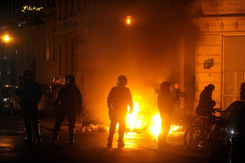 Беспорядки в Лейпциге