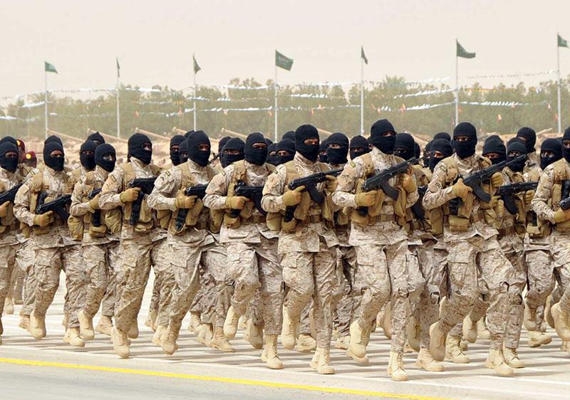 Солдаты Саудовской Аравии