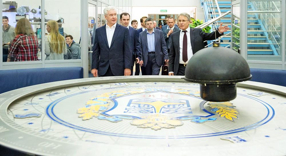 Сергей Собянин посетил МГТУ имени Н.Э. Баумана