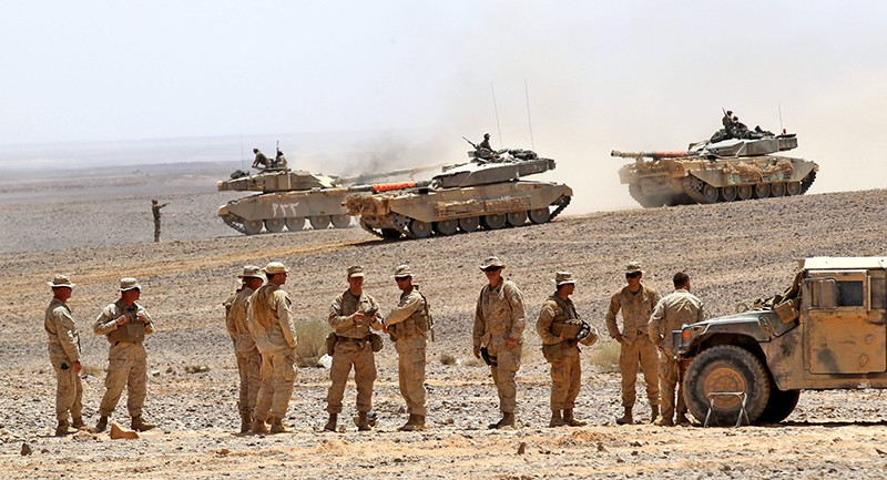 Военнослужащие армии Саудовской Аравии