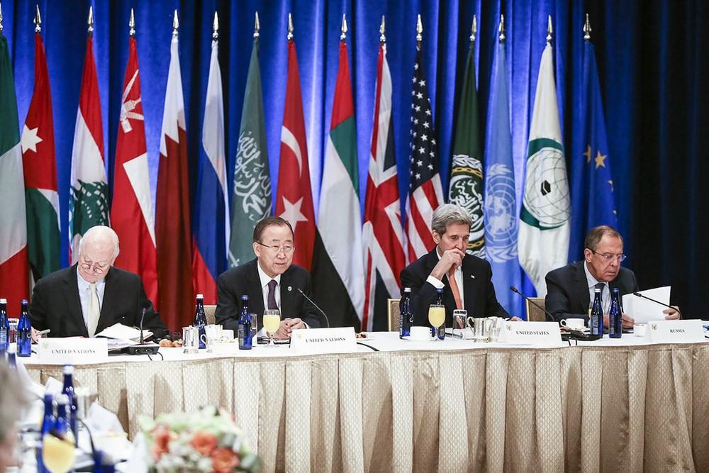 Заседание Международной группы поддержки Сирии