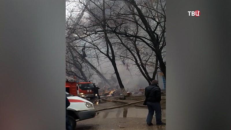Взрыв бытового газа многоэтажном доме в Волгограде