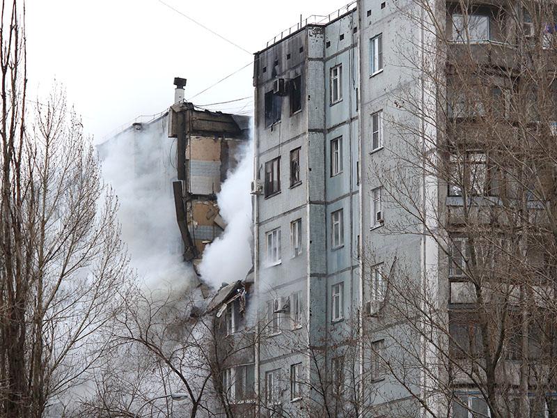 Взрыв бытового газа в Волгограде