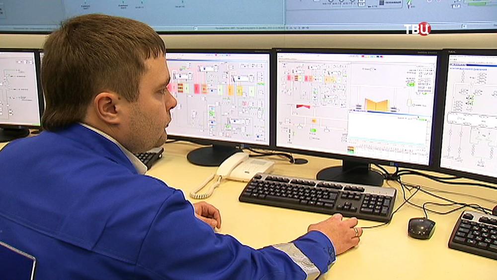 Центр управления энергоблока