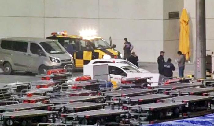 Турецкая полиция в аэропорту