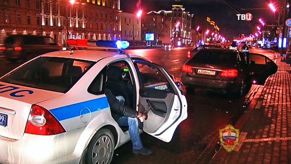 Задержание автоподставщиков