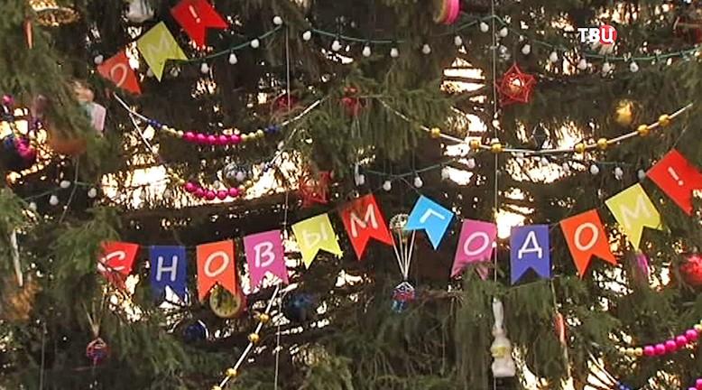 Украшение главной новогодней ёлки