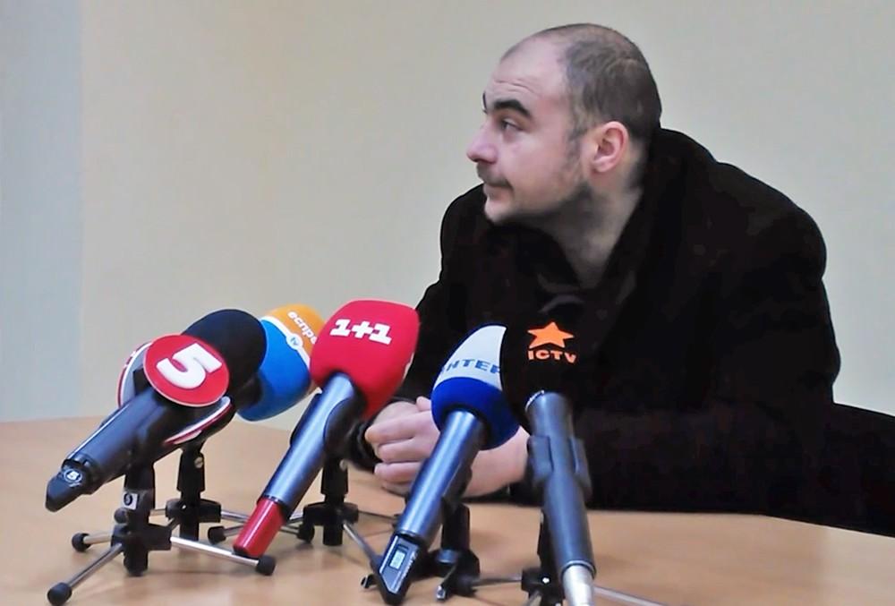 Задержанный СБУ гражданин России, Олег Хлюпин