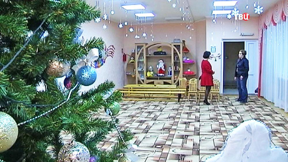 Новогодняя ёлка в детском саду