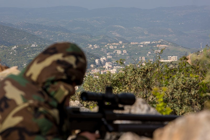 Снайпер сирийской армии