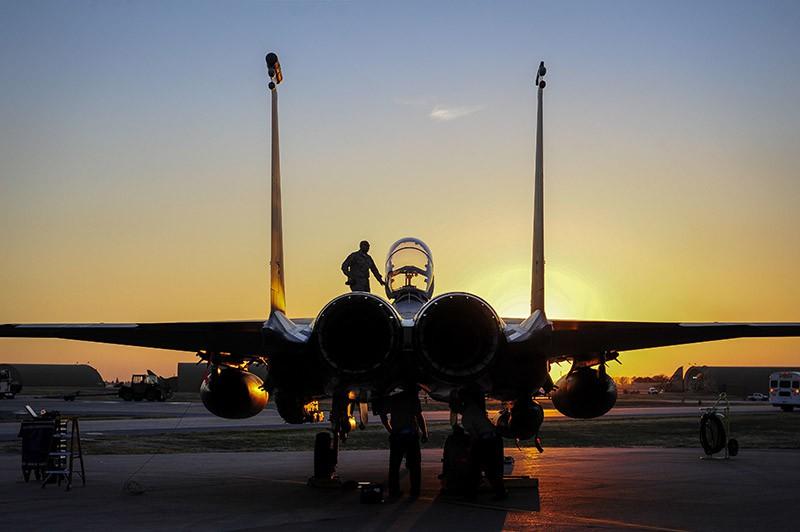 Истребитель F-15 ВВС Турции