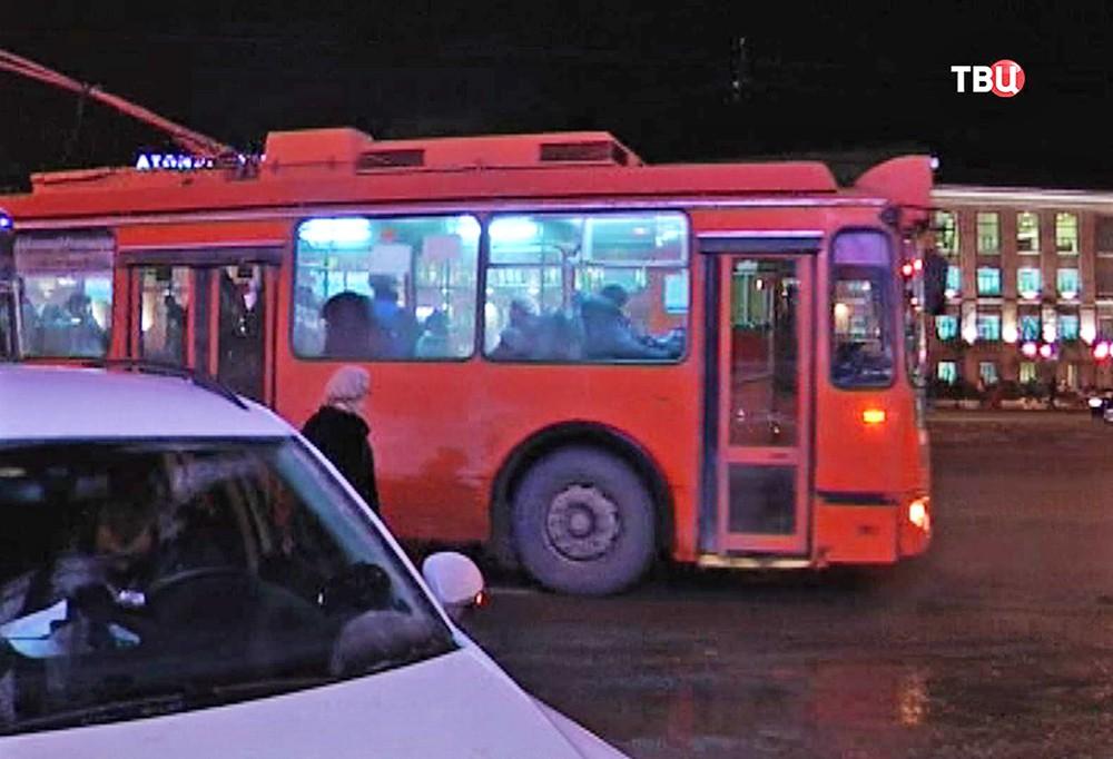 Троллейбус в Нижнем Новгороде