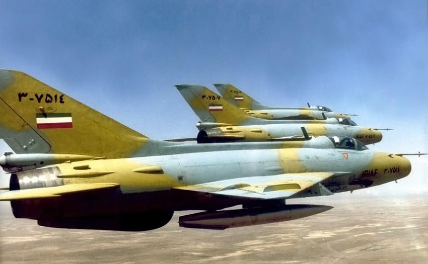 Истребители ВВС Ирана