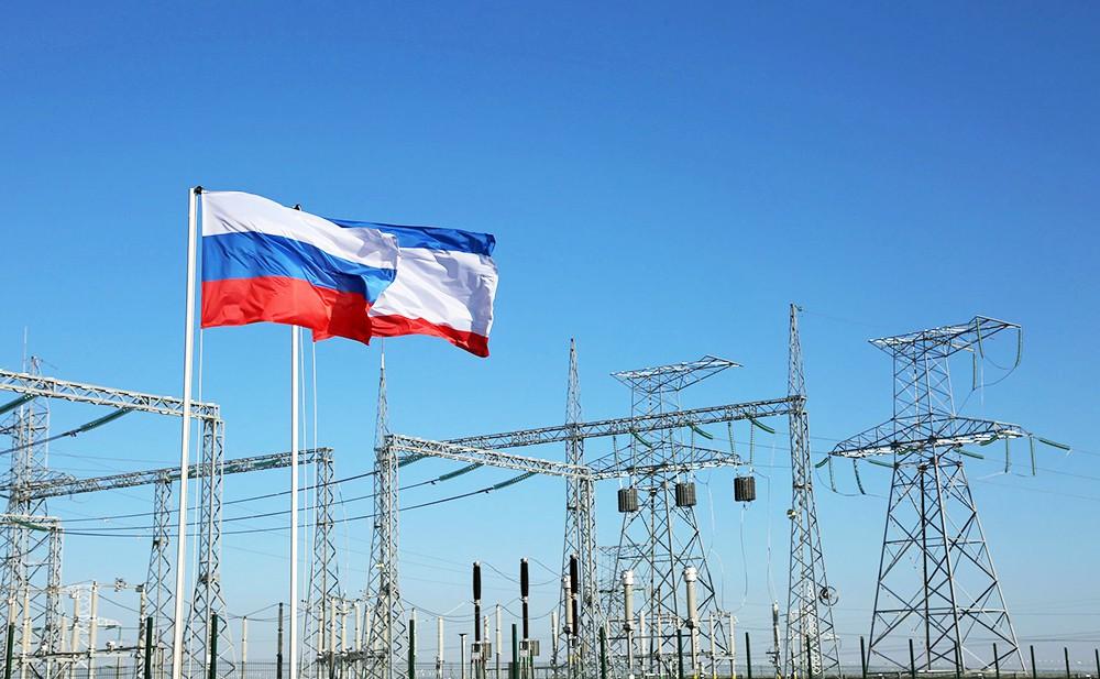 Электростанция в Крыму
