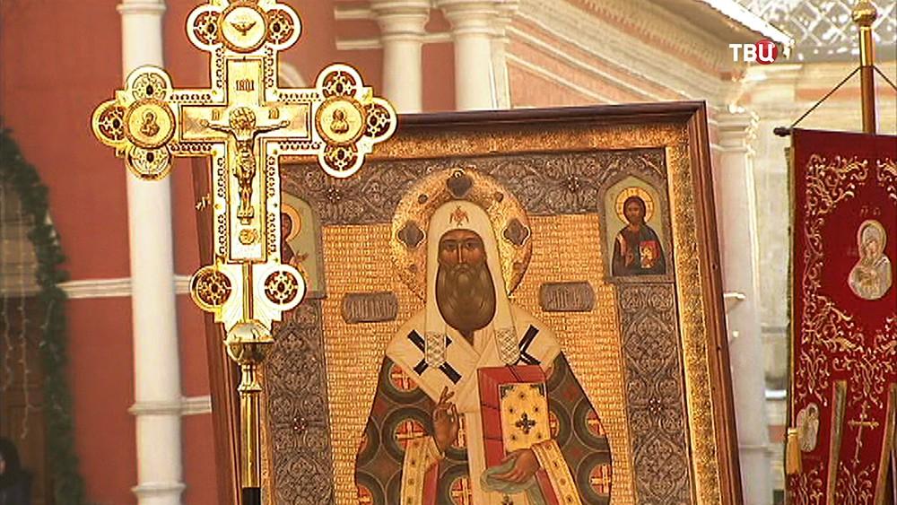 Крестный ход в честь святителя Петра