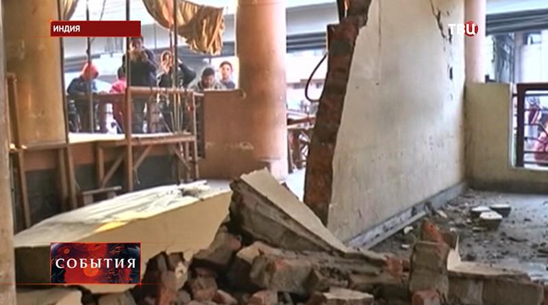 Землетрясение в Индии