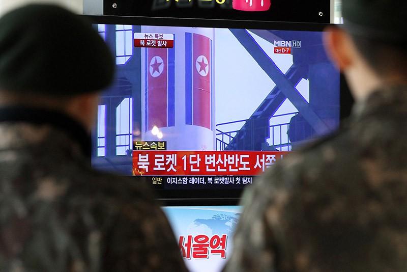 Эфир телеканала Южной Кореи