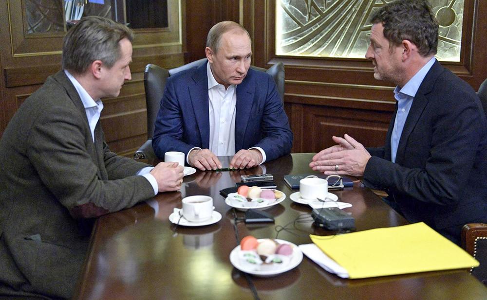 Интервью Владимира Путина немецкому изданию Bild
