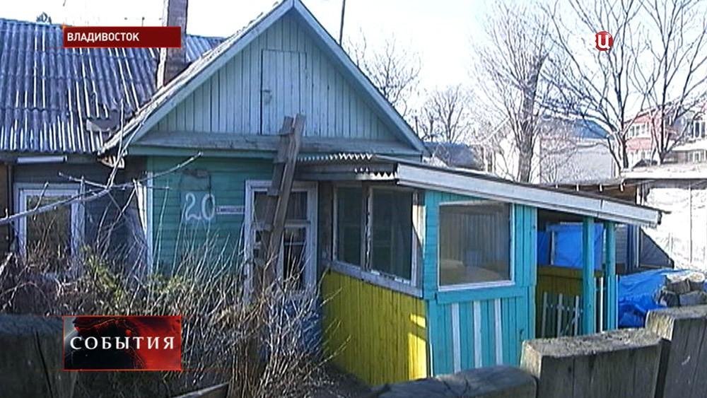 Место убийства четверых человек во Владивостоке