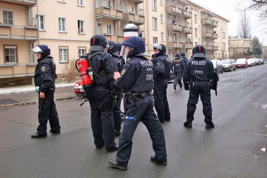 Спецоперация полиции Германии