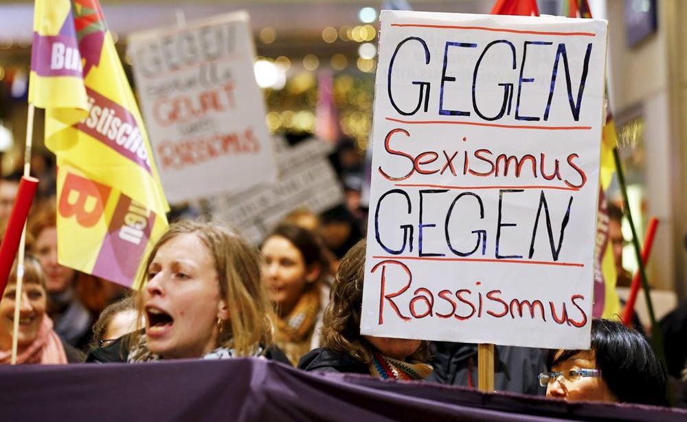 Митинг против расизма в Германии