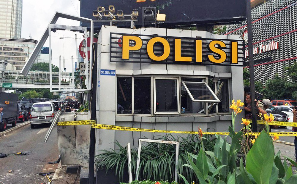 Последствия теракта в Индонезии