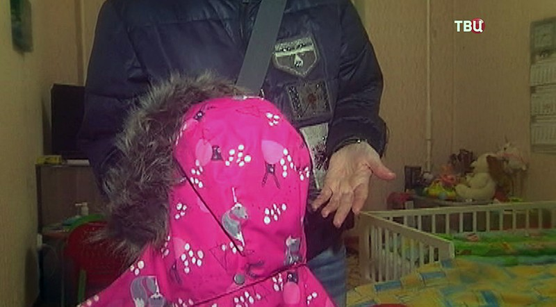 Куртка пострадавшей девочки