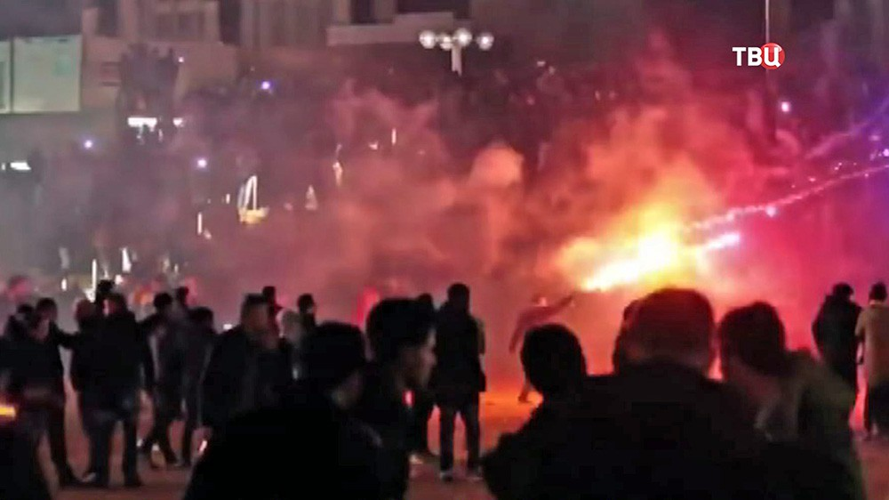 Уличные беспорядки в Кёльне