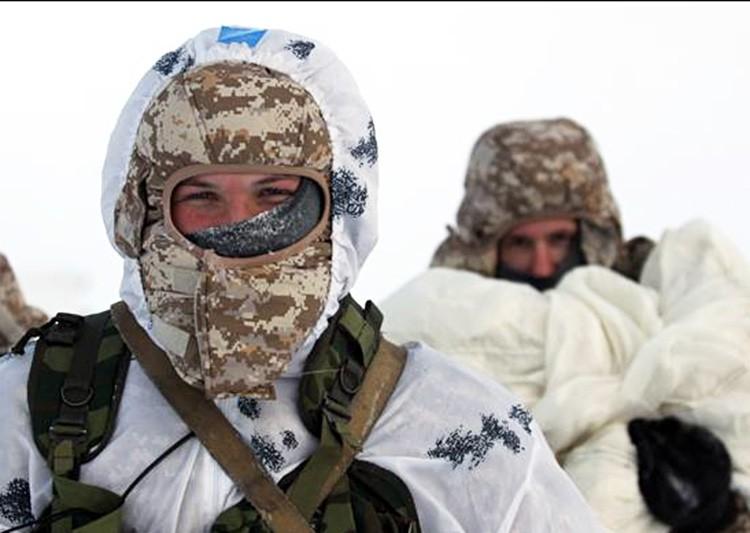Учения в Арктике