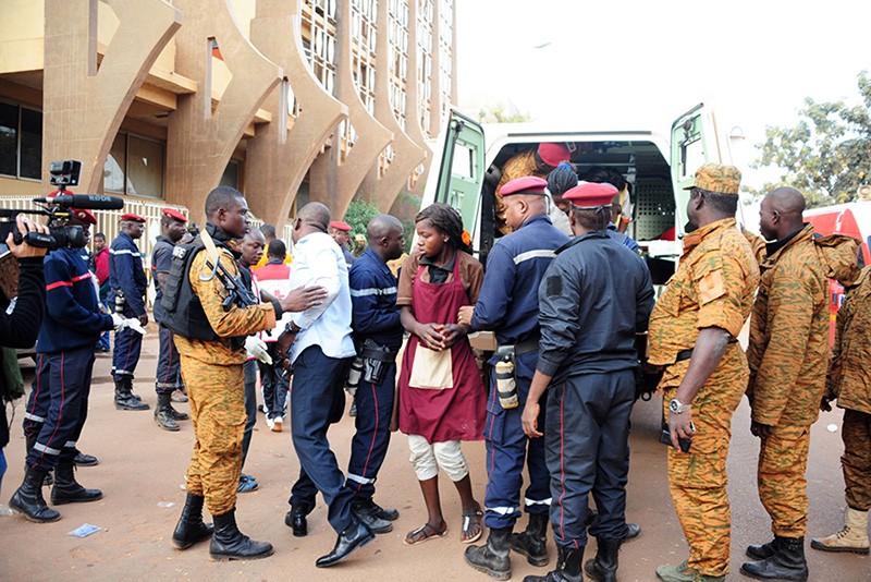 Последствия террористической атаки в Буркина-Фасо