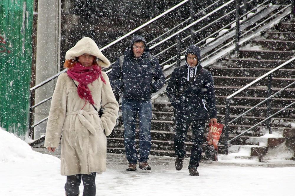 Снегопад