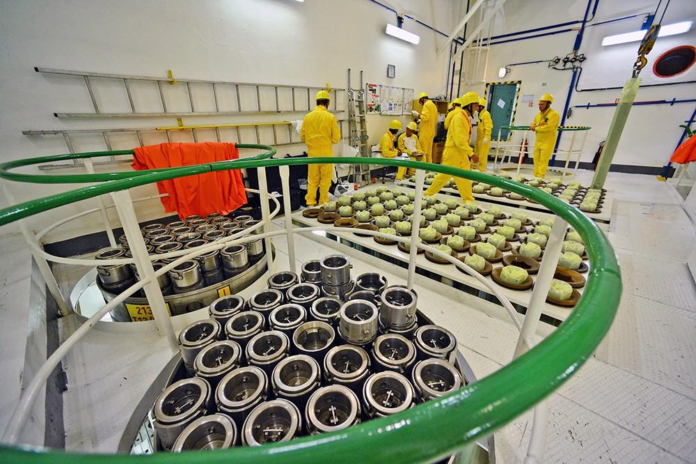 Работа ядерного реактора