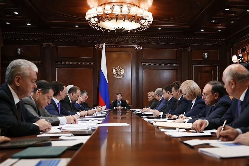 Совещание о социально-экономическом развитии России