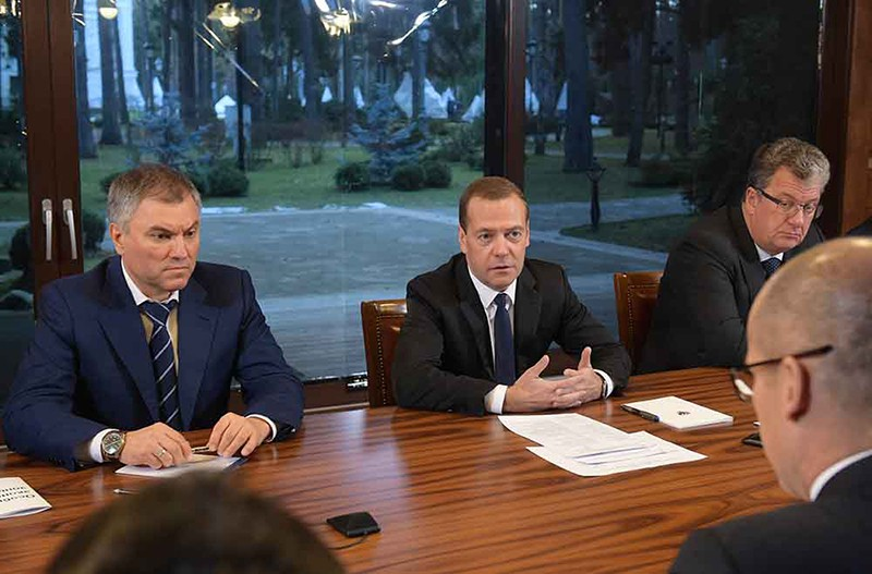 Встреча с активом Общероссийского народного фронта (ОНФ)