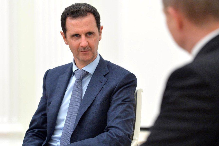 Встреча Владимира Путина и Башара Асада в Кремле