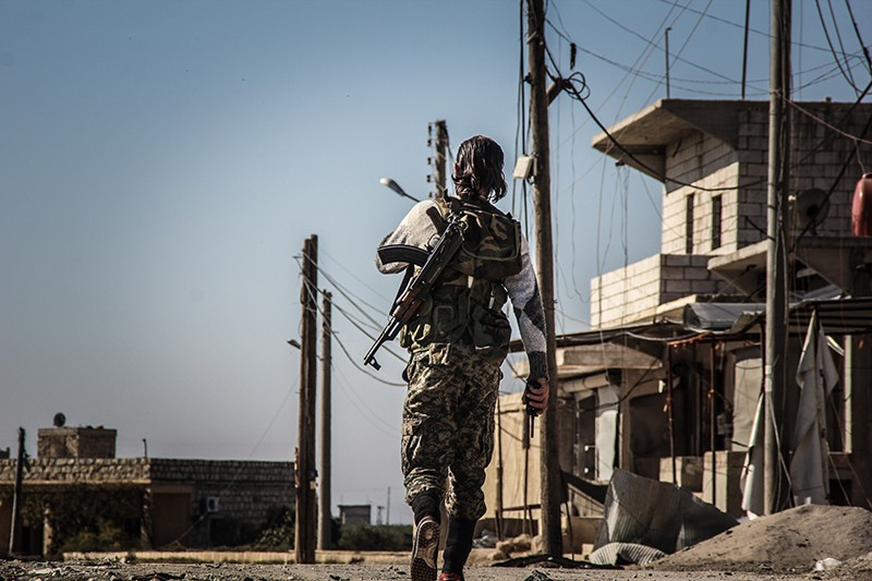 Солдат сирийской армии