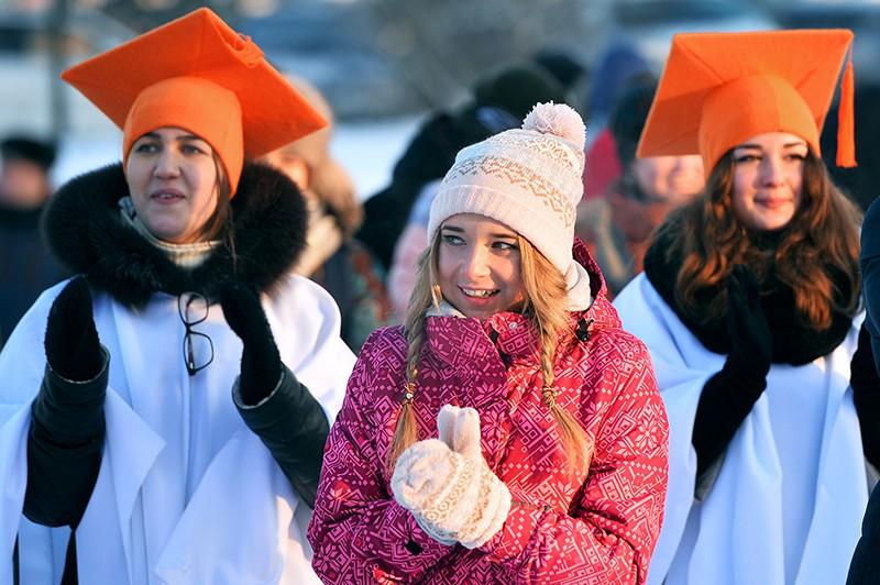 Студенты отмечают Татьянин день