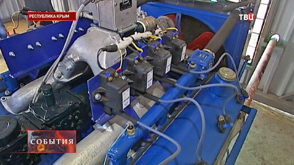 Электрогенератор в Крыму