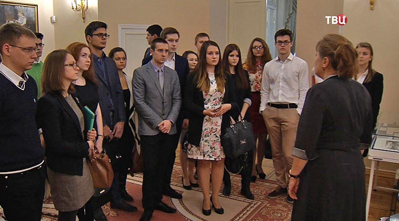 Студенты отмечают в Московской Мэрии