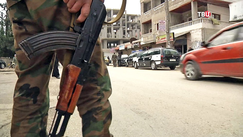 Полицейский участок в Сирии