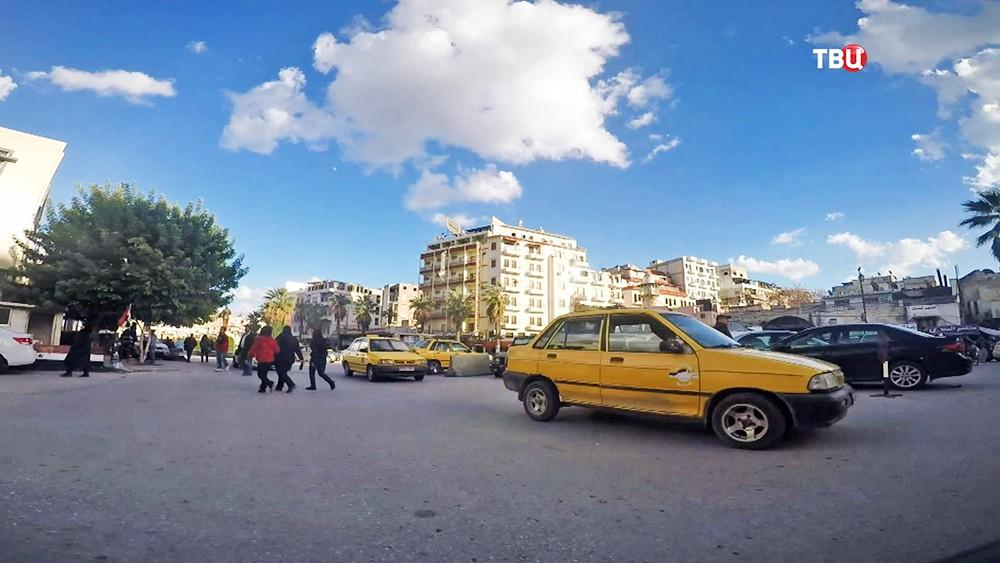 Улицы города в Сирии