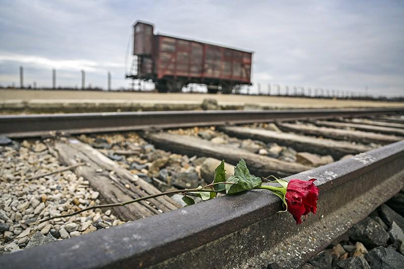 Железная дорога в концентрационный лагерь Освенцим